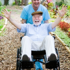 Disabled Senior - Fun